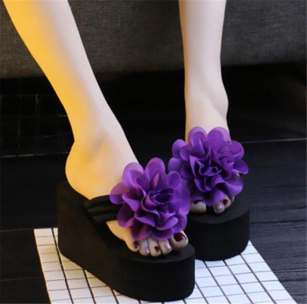 Fleurs violet noir 003