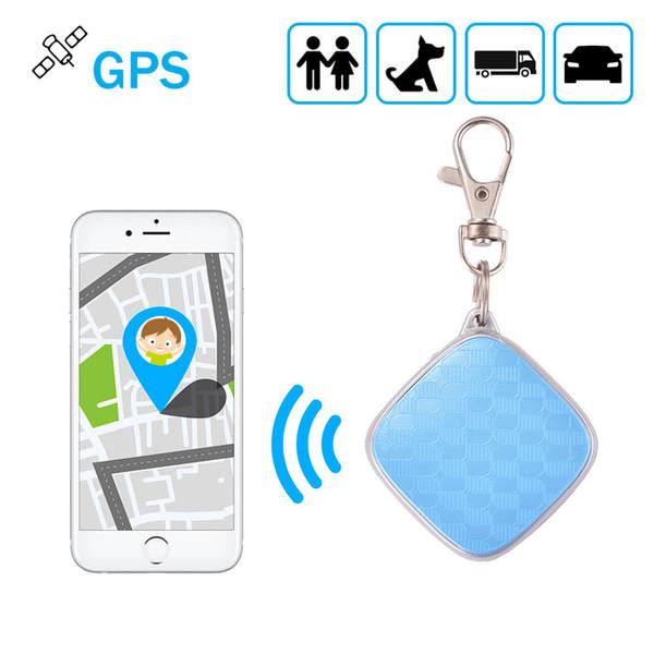 MiNi Personal Car Pet Tracker GPS Locator Keychain GSM Rastreador Suivi Dispositif pour les enfants aînés Animaux Temps réel Alarme APP piste