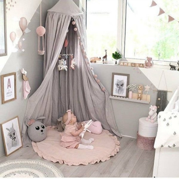 INS Baby Infant Play Mats Kids Crawling Carpet Floor Rugs Baby Bedding Rabbit Blanket Cotton Game Pad Children Room Decor D19010902