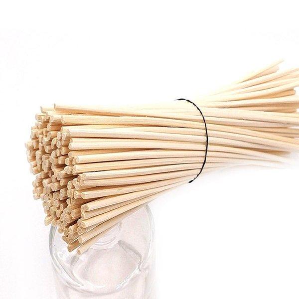 100pcs premium rotin Reed remplacement Diffuseur Recharge en rotin Bâtons aromatiques pour parfum pour la maison Décor de mariage
