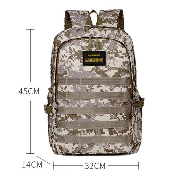 Camouflage Multi-Function Tactical Backpack Waterproof Mountaineering Bag Rucksack Wear-resistant Camping Bag hiking gear
