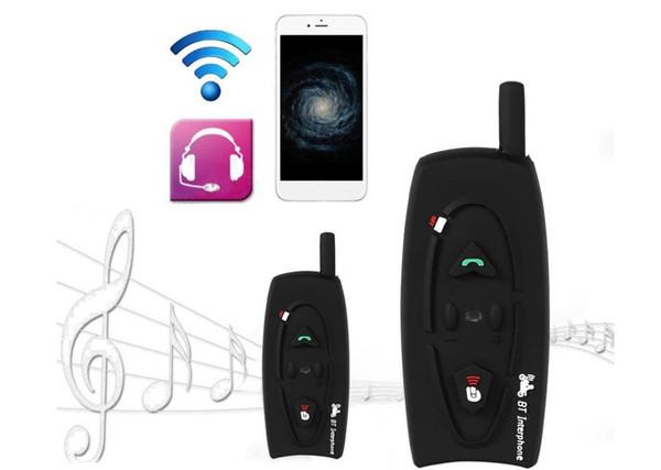 Nouvelle haute qualité V2-500M Bluetooth Casque de moto Intercom 2 Riders BT Interphone talkie-walkie pour ski Casque de vélo JH-1483