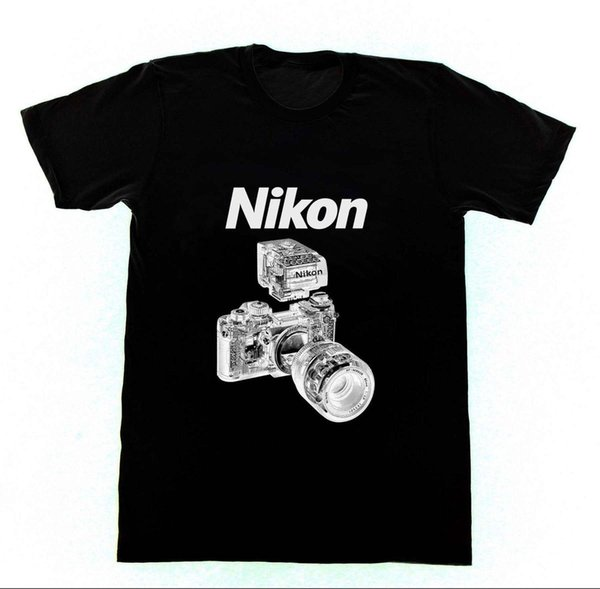 Nikon Blueprint F3 AF Film Camera - Shirt P4 Tshirt Canon Leica Mens 2018 fashion Brand T Shirt O-Neck