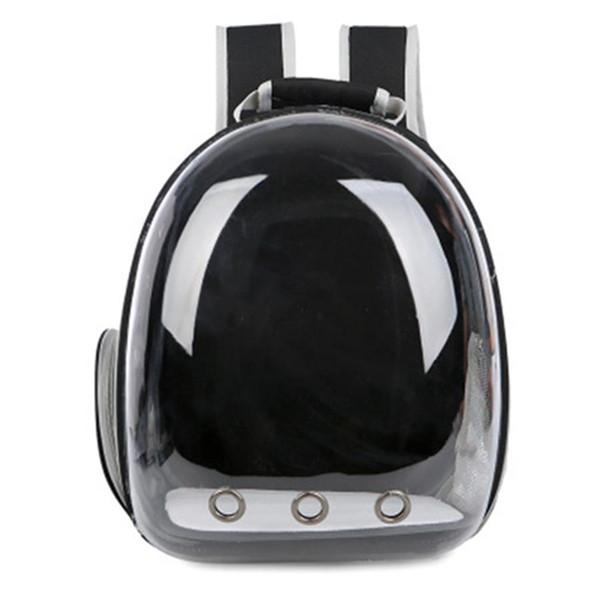 Portador de mascotas portátil Space Capsule Mochila DogCat Bubble Carriers Bolsa de viaje para gatos Perros pequeños Diseño transpirable Space Capsule Cat-car