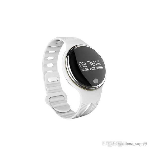 E07 Étanche IP65 Bluetooth Smart Watch Bracelet Sport Sain Podomètre Moniteur De Sommeil montres intelligentes pour téléphones Android Livraison Gratuite