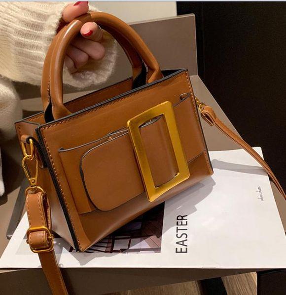 2019 новый небольшой квадратный мешок дикий простой портативный сумка Messenger duguang5012