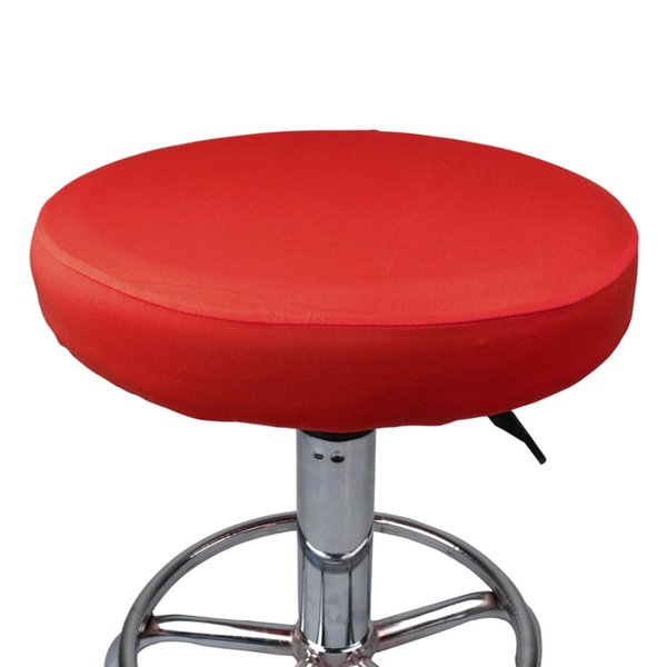 4Pcs/lot Elastic Chair Cover Round Stool Cover Bar Stool Seat Cover Slipcover Seat Covering for Bar Stool Home Chair Protector RUIYUN019