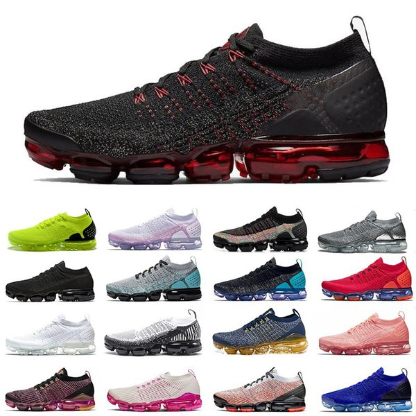 Best Cushioned Running Shoes 2020.2020 Shoes 1 0 2 0 3 0 Utility Run Sneakers Cny Triple Black White Laser Fuchsia Team Read Road Star Sports Shoes For Men Womens Trainers Best Running