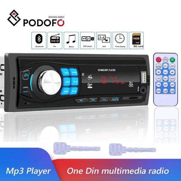 1 DIN Auto Radio Audio Stereo Autoradio MP3//USB//AUX-IN FM Empfänger Spieler