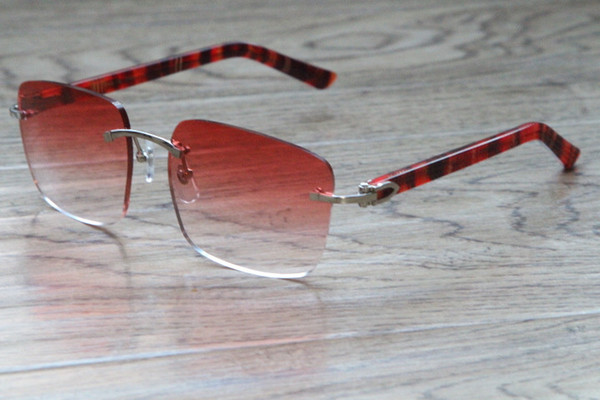 Silver Mix Red lens