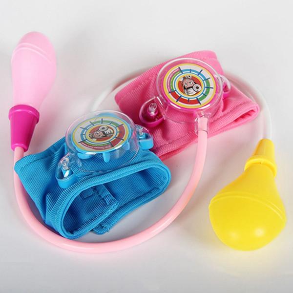 Couleur aléatoire Play House Toy Kit Médecin docteur Jouet Enfants Set Accueil docteur Infirmières Jouets pression artérielle
