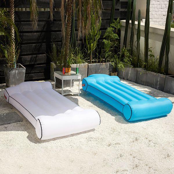 2019 neue Schnell Aufblasbare Sofa Faul Schlafsack S / M / L Camping Tragbare Luft Banana Sofa Strandbett Luft Hängematte Nylon FT42