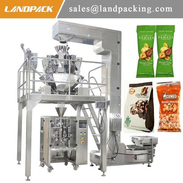 1 Kg Kuruyemiş Paketleme Makinesi Kaju Dikey Formu Dolum Mühür Makinesi Fiyat Hassas Tartı