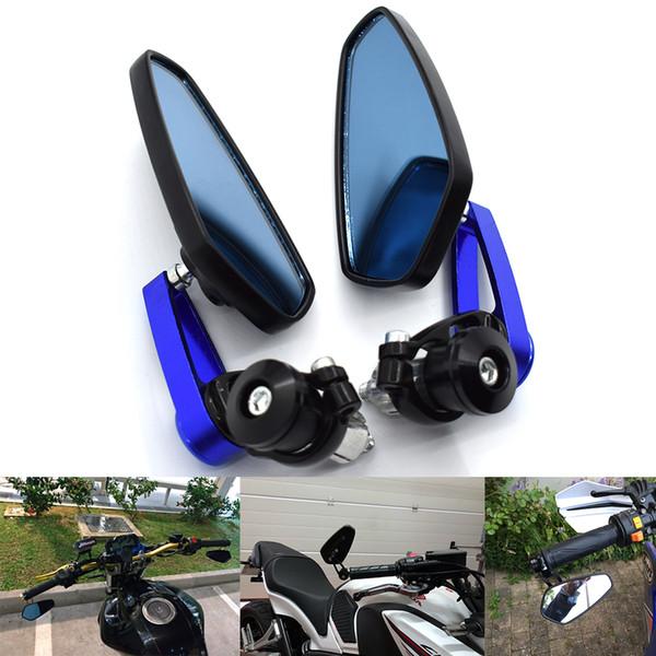 Pour moto Poignées de guidon Extrémités Rétroviseur latéral Rétroviseur de moto POUR YZF R1 R3 R6 R15 R25 YZF600R Thunder YZ600 TRX850