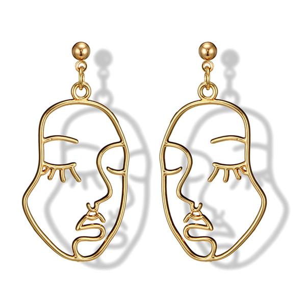 top popular Newest Classic women drop earrings for women girl Vintage 2019