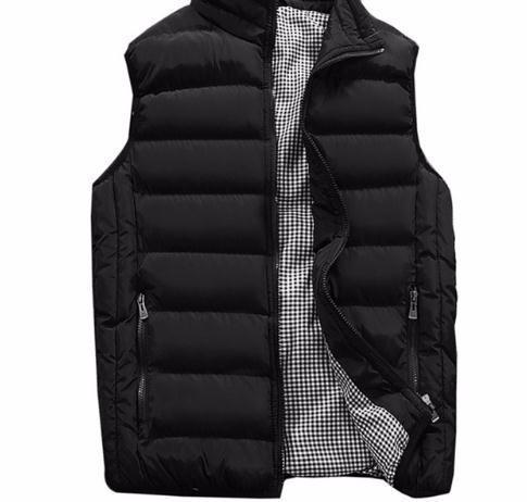 Vest New Stylish 2019 Autumn Warm Sleeveless Jacket Men Winter Waistcoat Men's Fashion Casual Coats Mens Plus Size 1960