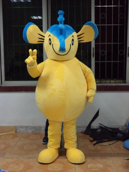 I Want A Hippocampus For Christmas.Professional Custom Yellow Seahorse Mascot Costume Character Hippocampus Mascot Clothes Christmas Halloween Party Fancy Dress Mouse Costume Teen