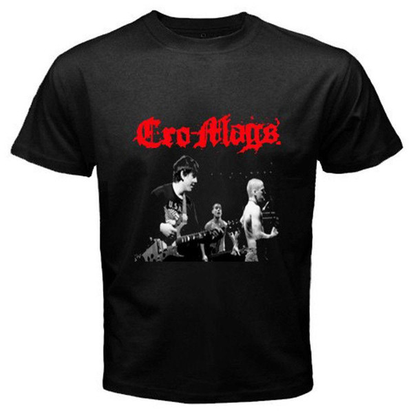 New Cro Mags Metal Punk Rock Band Member's Men's Black T-Shirt Size S to 3XL