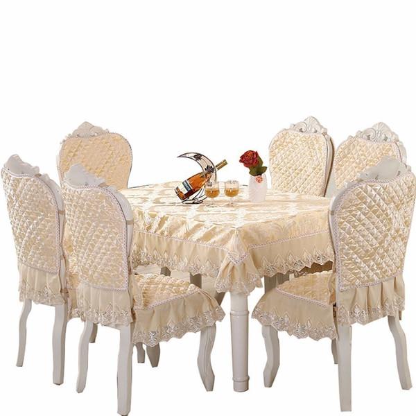 Avrupa Masa Örtüsü Boyutu 130x180 cm Sandalye Kapak Koltuk Minderi Ev Otel Parti Ziyafet Masa Örtüsü Düğün Dekorasyon Toalha De Y19062103