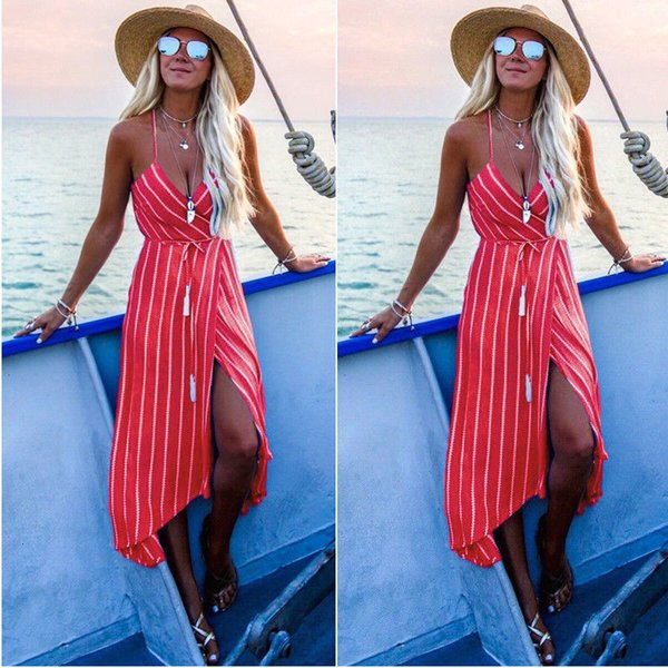Long Sleeve Dress Ladies Dresses Women Dress Boho Bodycon Party Long Maxi Dress Sundress Summer Fashion Sleeveless Dresses Vestidos