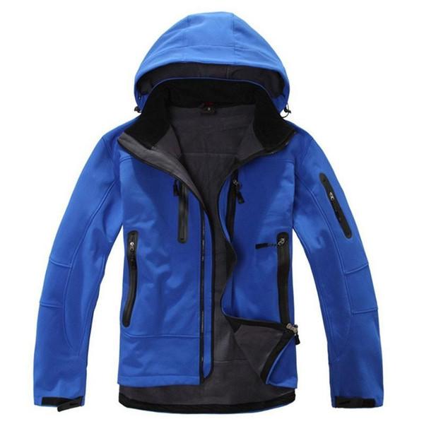 Venta al por mayor-Mammoths marca GTX Shell impermeable al aire libre chaqueta de senderismo al aire libre hombres Softshell montañismo camping esquí ropa chaquetas