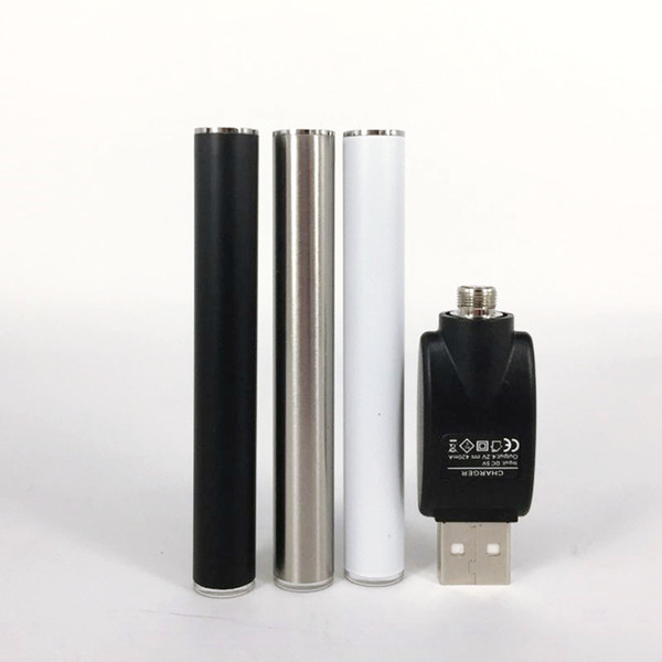 M3 Battery 350mah Auto Battery 510 Batteries For Thick Oil Vaperizer Buttonless Battery Vaporizer Pen Cartridges Ecig Batteries With Charger