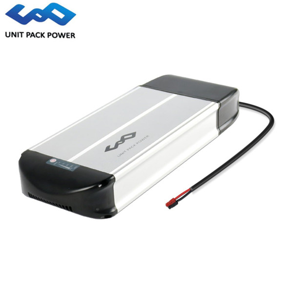 Rear Rack lithium battery 36v 15ah ebike battery with charger and BMS for 36V 500W 350W Electric Bike