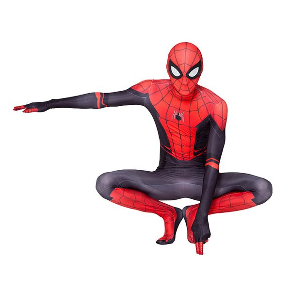 Halloween Spider-Man New Hero Expedition Sneak Warrior Mystery Cosplay Tights Play Costume Tight Long Sleeve S-XL