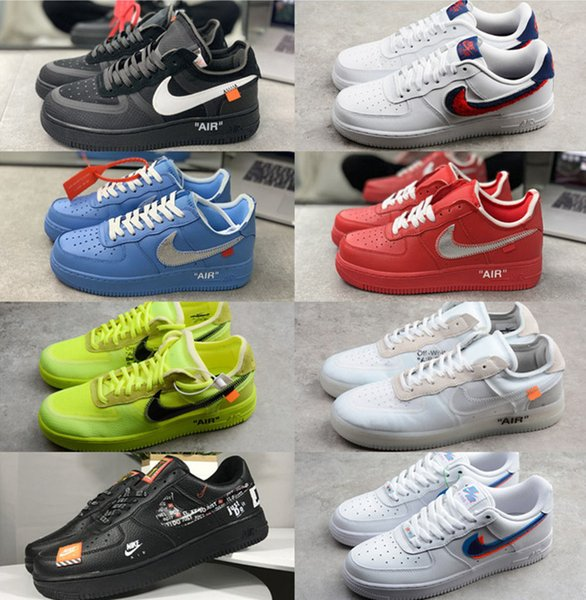off-white x air force 1 running shoes
