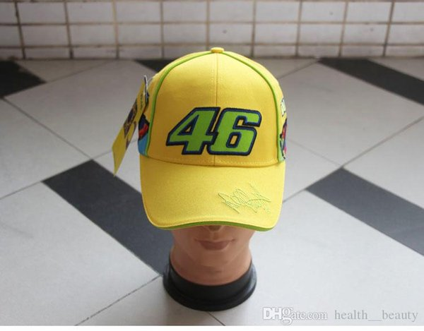 2019 HOT style cross-country rider motorcycle baseball cap racing duck tongue cap Small green number lower right curve side VAL color line.