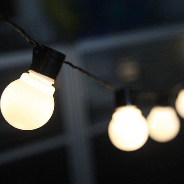 White-20 Bulbs AU Plug