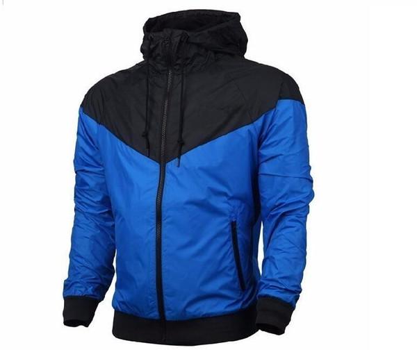 Neue 2019 windrunner klassische männer sportbekleidung hochwertigen wasserdichten stoff männer jacke mode reißverschluss hoodie jacke