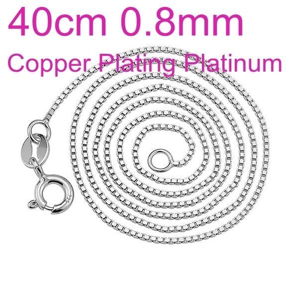 Cobre Platino 40cm 0.8mm