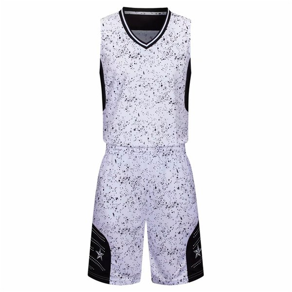 Cheap Basketball Jersey Sets For Men Good Quality New Style 108