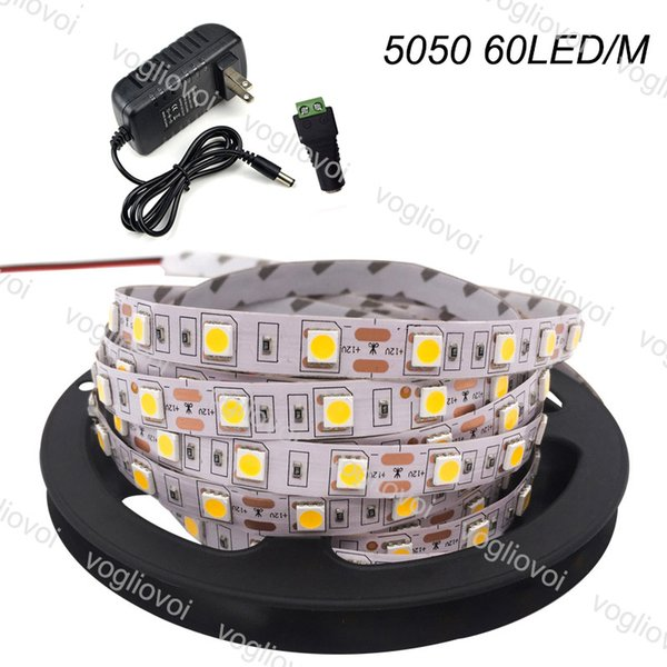 5050 60LED/M IP20(non-waterproof)