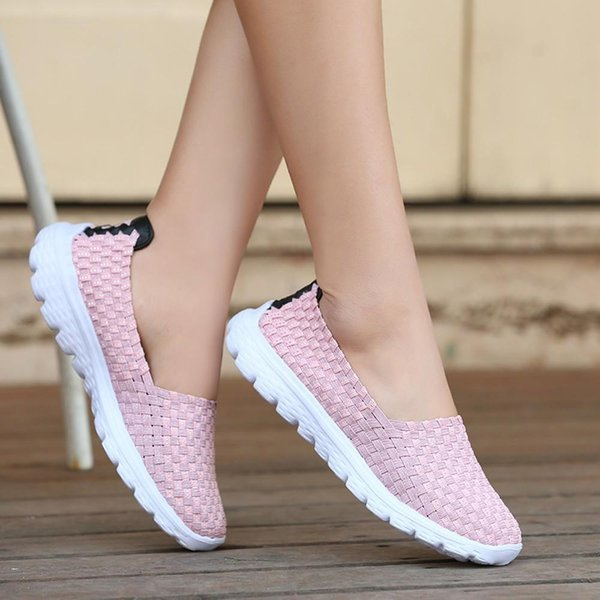 Designer Dress Shoes YOUYEDIAN women low platform wedge pumps women ronde neus 2019 comfortable ##*
