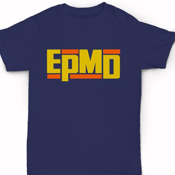 Epmd Logo T Shirt Old School Classic New York Hip Hop Strictly Business T-shirt Abbigliamento Big Size: S Xxl