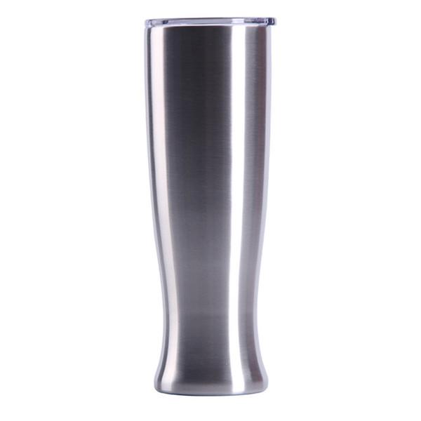 nuovi bicchieri da 20 once in acciaio inossidabile ufficio casa caffè birra boccale tazza vaso creativo con coperchi mantenere bottiglia di acqua fredda DrinkwareT2I5347