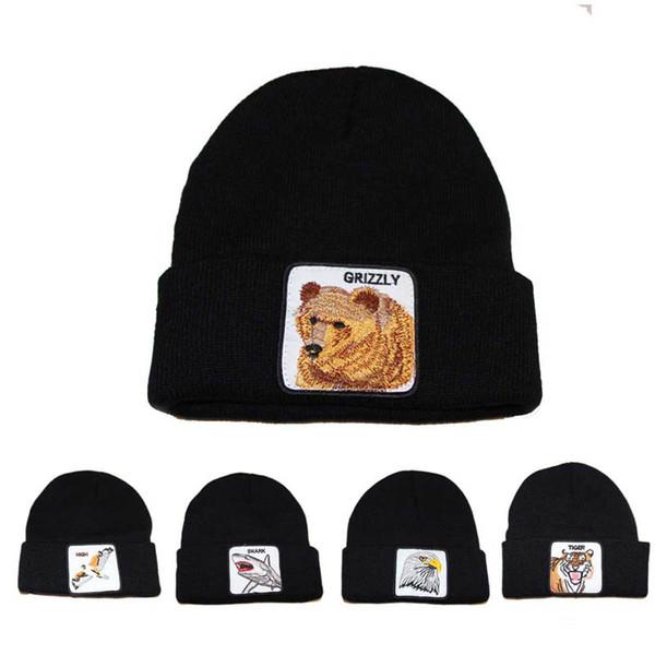Nuevos niños de dibujos animados sombreros otoño invierno niños diseñador sombreros niños gorritas tejidas Gorros de invierno Tejidos a mano Gorras Niños Gorras A6528