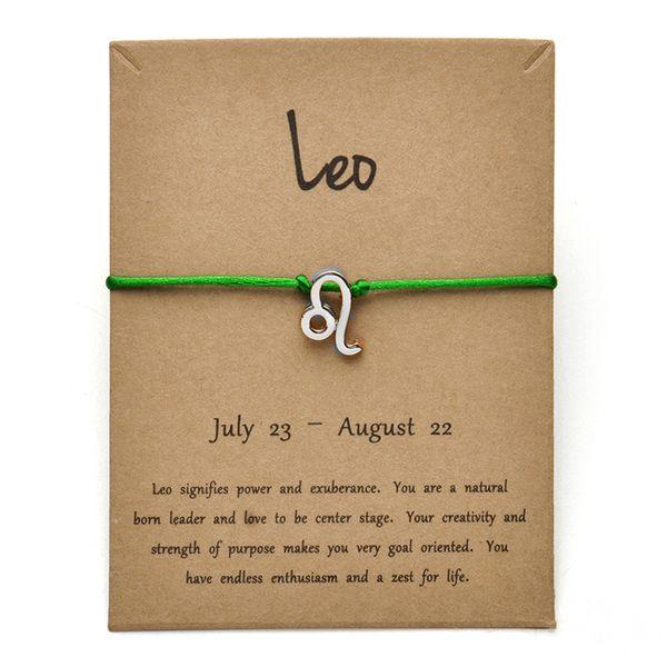 Tarjeta de plata verde Leo-Gold