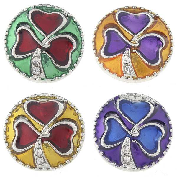 JaynaLee 18-20mm Metal Ginger Snap Button Fit Ginger Snaps Pulseras Joyería para mujeres hombres regalos GJS4707
