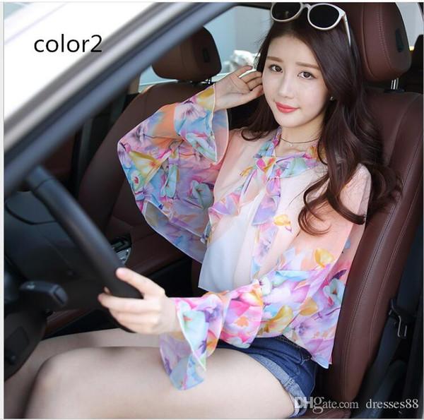 Primavera e verão europa e nos estados unidos moda sexy oco costura impresso casaco cardigan jaqueta de manga longa das mulheres