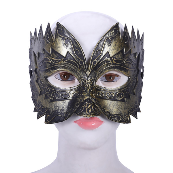 1 pcs Men's Masquerade Mask Ball Masks Stag Party Fancy Dress Venetian Eye Face Sawtooth Carved
