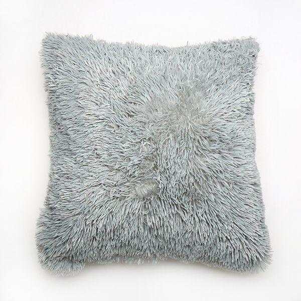 45 * 45cm estilo de Europa cojín alta calidad de 6 colores adicional cojín esponjoso de la moda almohada decorativa para el sofá