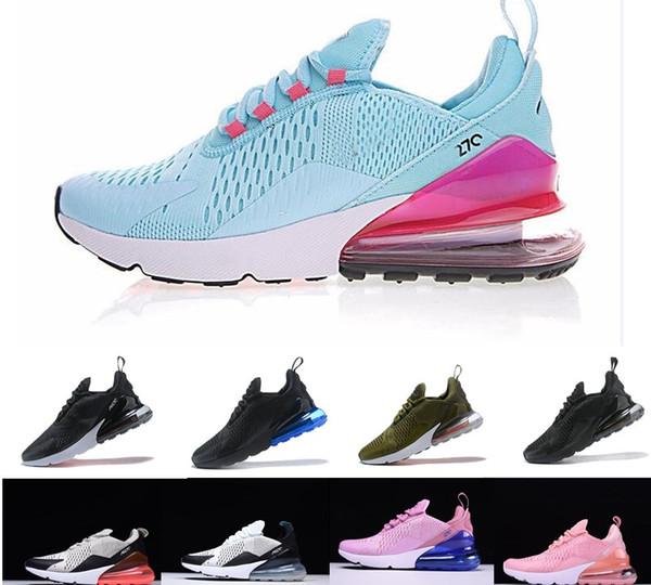 Großhandel 2019 Neue Nike Air Max Airmax AIRMAX 270 27C Teal Outdoor Schuhe 2 Sterne Männer AIR Flair Triple Black 27C Trainer Sportschuh 27S Sneakers
