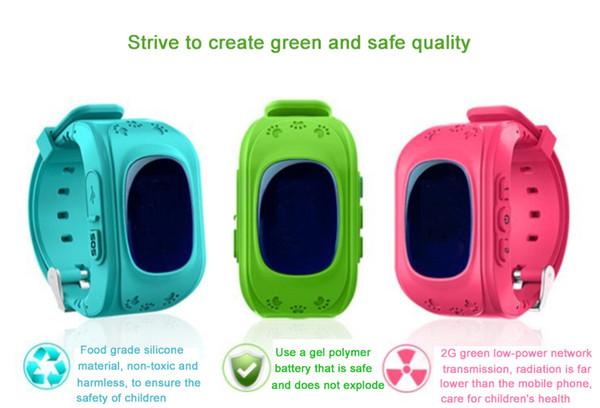 lower price with classic style half price Orologio Bluetooth GPS Tracker Bambini Q50 LCD Anti Perdita SOS  Intelligente Monitoraggio E Posizionamento Orologio GPS Bambini Cellulare  Braccialetti ...