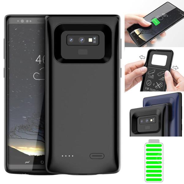 5000 mAh para Samsung Galaxy Note 9 Diseño creativo inteligente Batería externa Estuche de energía Banco Cargador Cubierta de respaldo