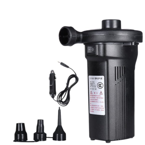Rechargeable Electric Air Pump Nickel-Cadmium Battery Inflatable Air Pump Inflate Deflate for Outdoor Kayak Us Plug