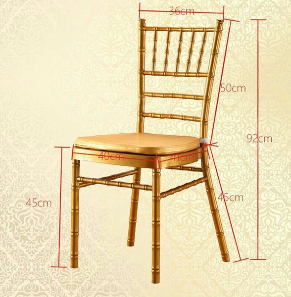 250pc hipping by ea metal white gold ilver chiavari wedding chair with cu hion