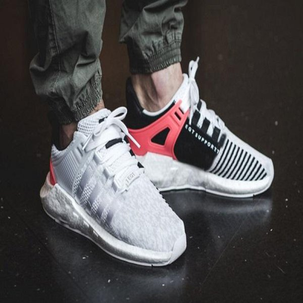 Avec Box EQT 93 17 ultra chaussure Support Future noir blanc rose Arms Pack Hommes femmes turbo rouge casual sport Sneaker 36-44